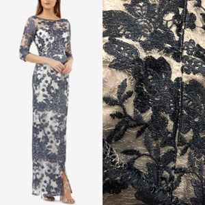 Lace maxi gown JS Collections new with tags